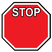 Customize-Your-Own Stop Sign Magnet, Pack of 50