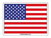 American Flag magnet - NEW!