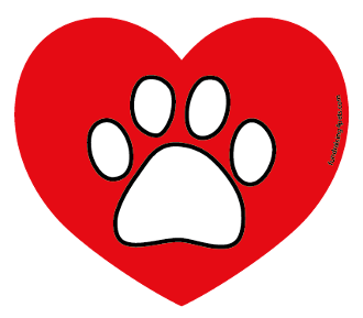 Paw Heart Magnet *NEW*
