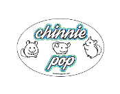 Chinnie Pop oval magnet - NEW!