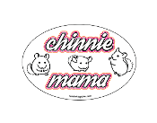 Chinnie Mama oval magnet - NEW!